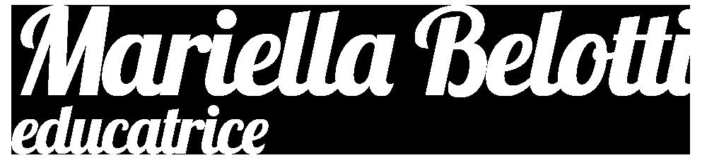 Mariella Belotti Educatrice